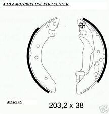 ROVER 25 REAR BRAKE SHOE SET 2 x FRONT SOLID BRAKE DISC