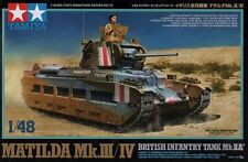 1:48 TAMIYA KIT CARRO MATILDA MK. III/IV BRITISH INFANTRY TANK MK.II A  32572