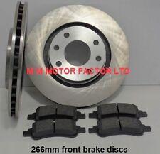 Peugeot 307 1.4, 1.6 & 2.0 HDi  2001-2008  Front Brake Discs & Pads  Vented 