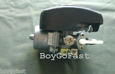 80cc gas Motor ENGINE parts - speed Carburetor w on/off black cover