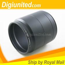 58mm 58 mm Lens Filter Adapter Tube for Panasonic Lumix DMC-FZ200 Digital Camera