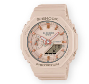 Authentic Casio G-Shock Ana-Digi Limited Edition Pink Women's Watch GMAS2100-4A