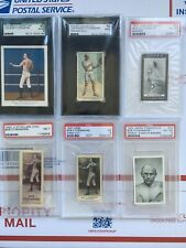 Bob Fitzsimmons PSA and SGC graded Card Collection