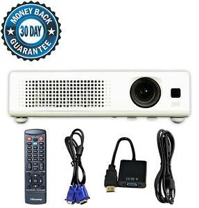 3M X15 3LCD Projector XGA Portable HD 1080i HDMI-adapter w/Remote bundle