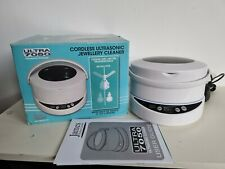 JAMES CORDLESS ULTRASONIC JEWELLERY CLEANER ULTRA 7050 NEW OTHER