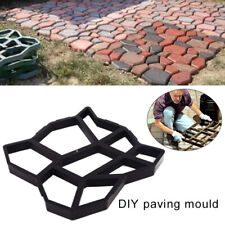 UK Reusable Path Floor Mould DIY Path Maker Garden Lawn Paving Concrete Mold