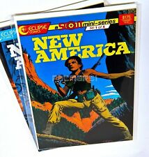 New America Scout Mini Series #1,2  Timothy Truman (1987) Eclipse Comics, NM/VF
