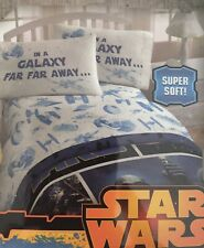 New Star Wars GALAXY  3pc Microfiber Twin Sheet Set.