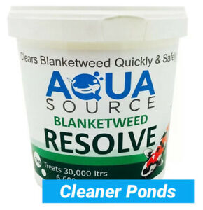 Aqua Source Blanketweed Resolve 1Kg Pond Koi Treatment Free Delivery