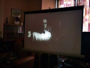 'WARNER BROS TRAILER REEL' 200FT SUPER 8MM B/W SOUND CANTERBURY FILMS .