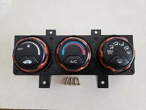 2007-2008 OEM Honda Element SC AC HVAC Climate Heater Control Panel Knobs Screws