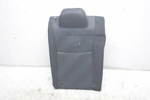 13 14 15 Nissan Sentra 1.8L REAR PASSENGER SEAT UPPER PORTION BLACK 88600-3SC0A