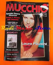 Rivista MUCCHIO SELVAGGIO 467/2001 Laura Pausini Ani DiFranco Max Stefani No*cd