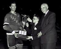 Andy Bathgate New York Rangers 1959 Hart Trophy 8x10 Photo