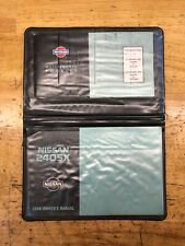 1996 Nissan 240sx S14 SE OEM Owner's Manual & Maintenance Booklet