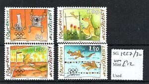 Liechtenstein 2000 Olympics set SG1227/30 MNH SG cv £12