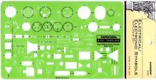 Berol Rapidesign Template - Electrical / Electronic Symbols - R-301