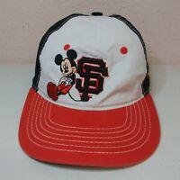 Disney Mickey Mouse San Francisco Giants Youth Hat Adjustable Strap New Era