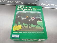 Vintage Parker Brothers Lets Go To The Races VHS Horse Racing Game