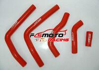 For Honda CR125 CR125R CR 125R 2005-2008 2006 2007 Silicone Radiator Hose RED