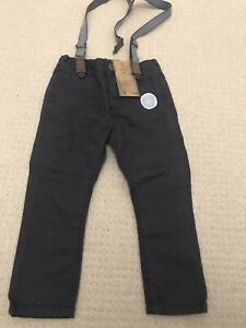 F&F New With Tags Trousers And Braces Age 2-3