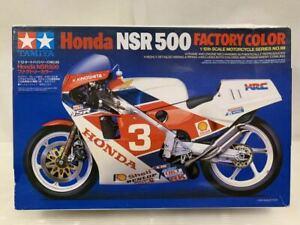 Tamiya HONDA NSR500 FACTORY COLOR 1/12 Model Kit #16703