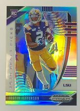 2020  Prizm Draft Picks Justin Jefferson Rookie Silver Prizm #126 non-auto RC
