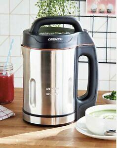 Ambiano Soup Maker Smoothie Maker Blender 1.6 Litre S/Steel