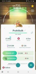 Pokemon Go Shiny Timburr - Schillernd Praktibalk