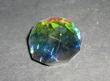 Mezza Sfera Cristallo Peacock GLASS CRYSTAL COLOUR ORNAMENT 109202-30