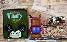 "Disney Vinylmation 3""  Villains 4 Rhino Guard Robin Hood Mint Box and Foil"