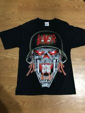 Vtg Slayer Uber Alles Tour Shirt Size Medium