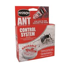 Nippon Ant Control System 2 Traps & 25g Liquid Eliminates Ants And Nest, Destroy