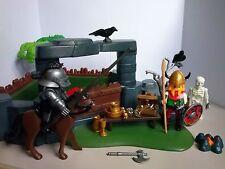 Playmobil 3137: Superset Vikings / trésor  Quasi Complet !!!!