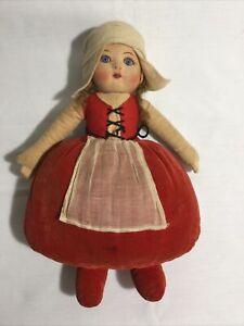 Chad Valley Dutch Girl Doll, British, 1920s/30s