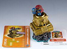 Skylanders Swap Force Heavy Duty Sprocket Figure Loose With Card & Sticker Sheet
