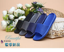 Mens Slip On Sport Slide Sandals Flip Flop Shower Shoes Slippers House Gym