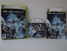 Blacksite - Jeu xbox 360 complet avec notice