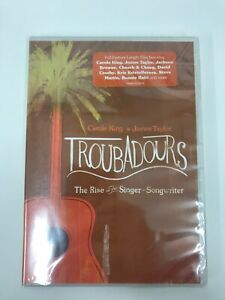 James Taylor / Carole King Troubadours The Rise Of The Singer-Songwriter DVD NEW