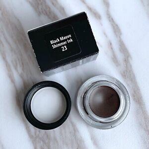 Bobbi Brown Long-Wear Gel Eyeliner #23 Black Mauve Shimmer Ink 0.1oz/3g - New