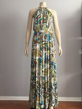 Authentic ICEBERG MAXI DRESS SIZE 40 MADE IN ITALY