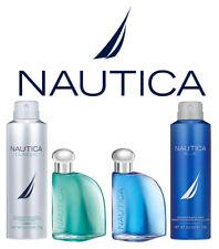 Nautica 4 Piece Gift Set Eau De Toilette & Deodorant Body Spray, Blue & Classic