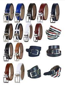 Boys Adjustable Faux Leather Belts, Boys Formal & Casual Belt, Kids Belts