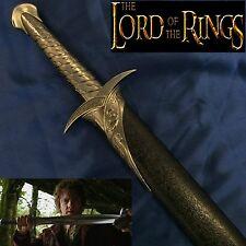 (Lord of the Rings & Hobbit) Frodo & Bilbo Baggins Sting Sword & Scabbard Black