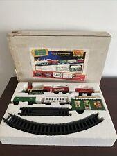 Vintage Bright Quality Toys Santas Musical Express Christmas Train Set