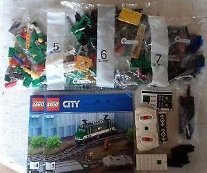 LEGO City Eisenbahn aus Set 60198 E-Lok grün Bausatz NEU mit Powered UP
