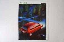 Renault Clio 7/1999 Prospekt B4054
