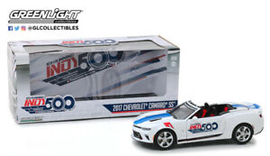 Greenlight 2017 Chevrolet Camaro SS Convertible Indy 500 Event Car 1/24 In Stock
