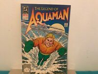 The legend of Aquaman   comic book DC comics