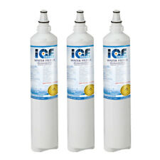 Fits with LG LT600P 5231JA2006A  Kenmore 469990 Refrigerator Water Filter (3pcs)